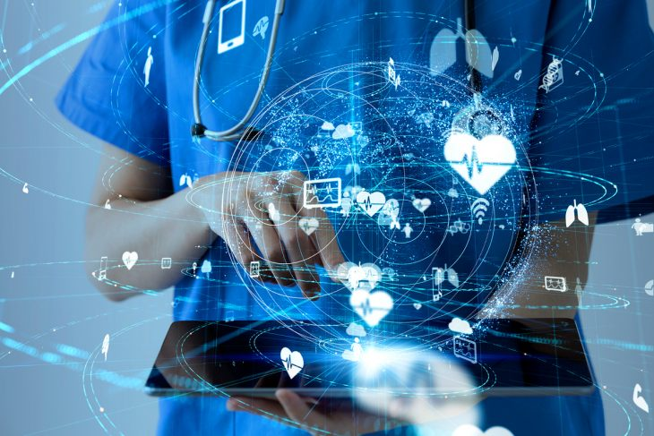 Significant tech's massive interact in on telehealth and digital 'front doors'